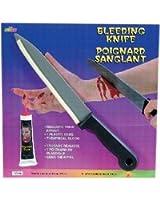 Rubie's Costume Co Bleeding Knife Costume