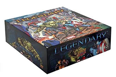 Upper Deck Legendary Marvel Deck Building Game