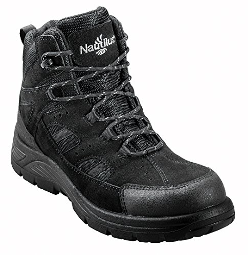 Nautilus Men's Composite Toe EH WP Boot,Black,11 M