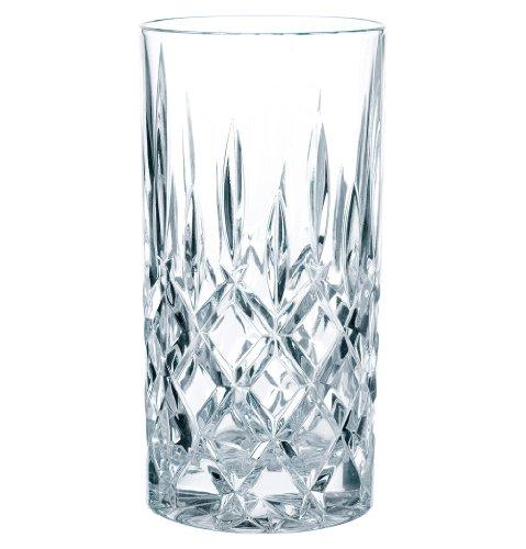 Nachtmann Noblesse Longdrinkglas, 12er Set, Wasserglas, Saftglas, Kristallglas