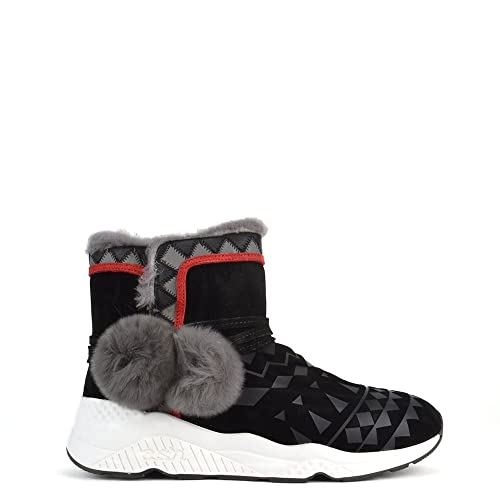 Ash Zapatos Mongolia Botines Negro Mujer 38 EU Negro: Amazon.es: Zapatos y complementos