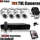 HQ-Cam® 4-Channel H.264 DVR Surveillance Security