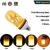 2000 lumen led flood bulb - Romantic LED Flickering Simulation Flame Light Bulbs 3 Modes and Gyro Sensor,1500K True Fire Color,700 Lumens Nature effect,108pcs 2835 LED Beads