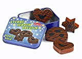 Erzi 14233 7.5 X 5.9 x 2.9 cm Wooden Grocery Shop Gingerbread in a Tin Toy (4-Piece)