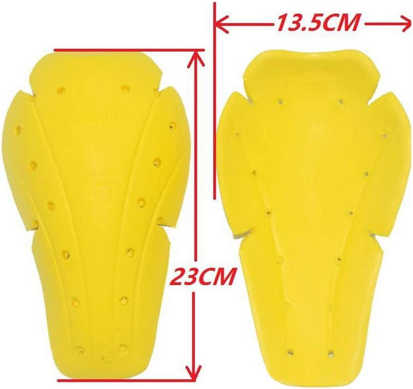 perfk Motorcycle Off-Road Cycling Rider CE Approved Armour Hip /& Knee Protective Gear Pads Black