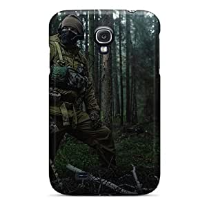 New VintageFashion Super Strong Jungle Special Forces Tpu Case Cover For Galaxy S4