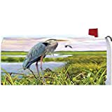 Custom Decor Blue Heron Mailbox Makeover #2690MM