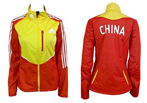 Damen Größe 12Adidas Team China Athleten Jacke