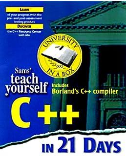Amazon Com Teach Yourself C In 21 Days Sams Teach Yourself