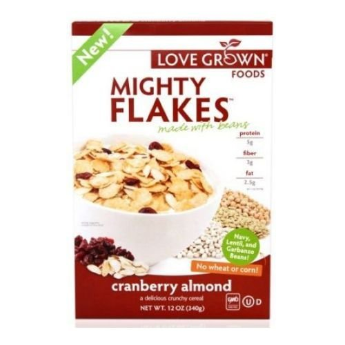 Lovegrown Lgf Mighty Cranberry Almond Cereal 12 Oz