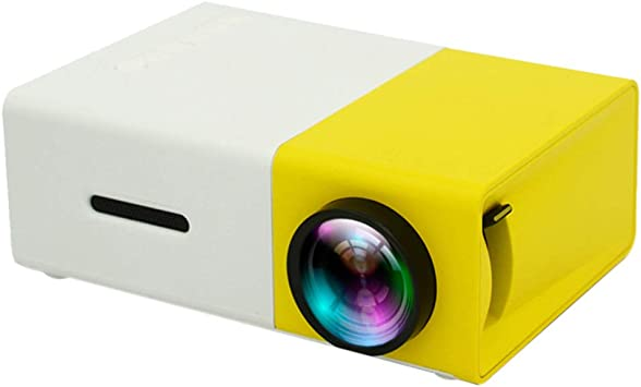 Zhhlinyuan Proyector Pico Proyector Bolsillo Proyector Compatible ...
