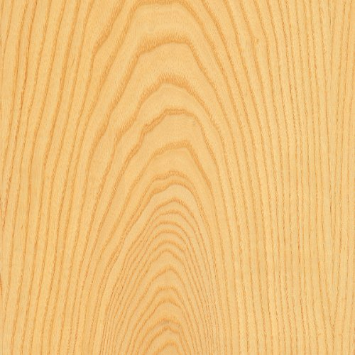 Ash Wood Veneer Plain Sliced 4'x8' 10 mil (Paperback) Sheet by Wood-All