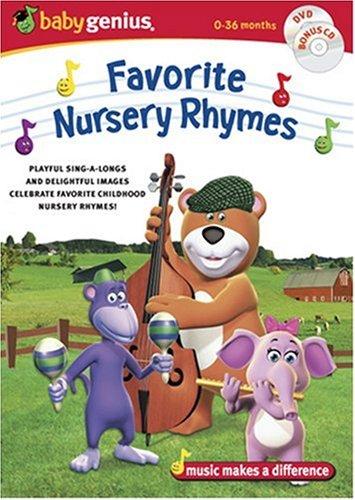 Baby Genius Favorite  Nursery Rhymes w/bonus Music CD (Baby Games For Bo)