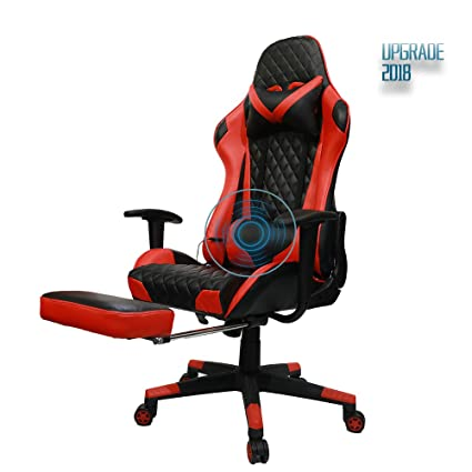 Stupendous Insoria Ergonomic Gaming Chair High Back Swivel Computer Office Chair Adjusting Headrest And Massage Lumbar Support Recliner Napping Chair With Machost Co Dining Chair Design Ideas Machostcouk