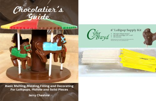 6stk100ebk 100 easter chocolatier lollipop