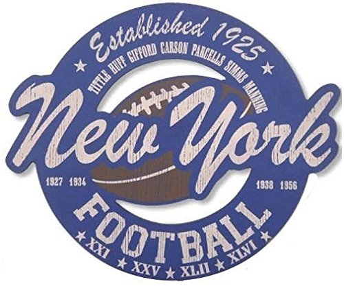 New York Giants Cut Out - 4