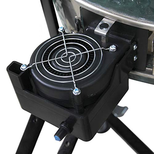 12V BBQ Fan Air Blower Tools for Barbecue Picnic Camping Fire Charcoal Starter