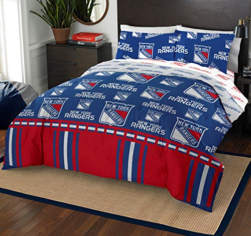 The Northwest Company NHL New York Rangers Full Bed in a Bag Complete Bedding Set #537002474