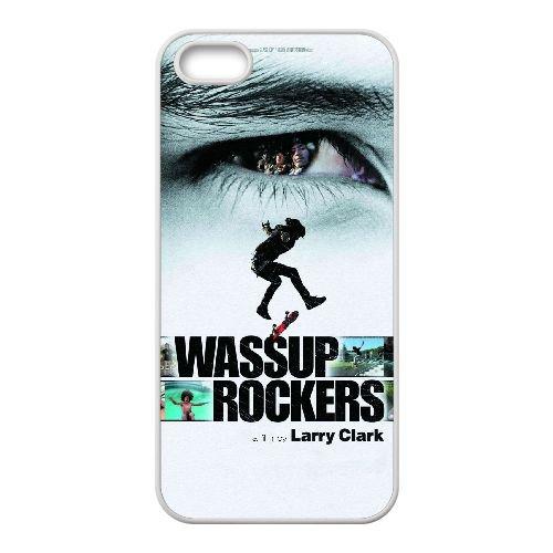 R6Z26 Wassup Rockers Haute Résolution Affiche I3A2EJ coque iPhone 4 4s cellule de cas de téléphone couvercle coque blanche SE8UBO6AF