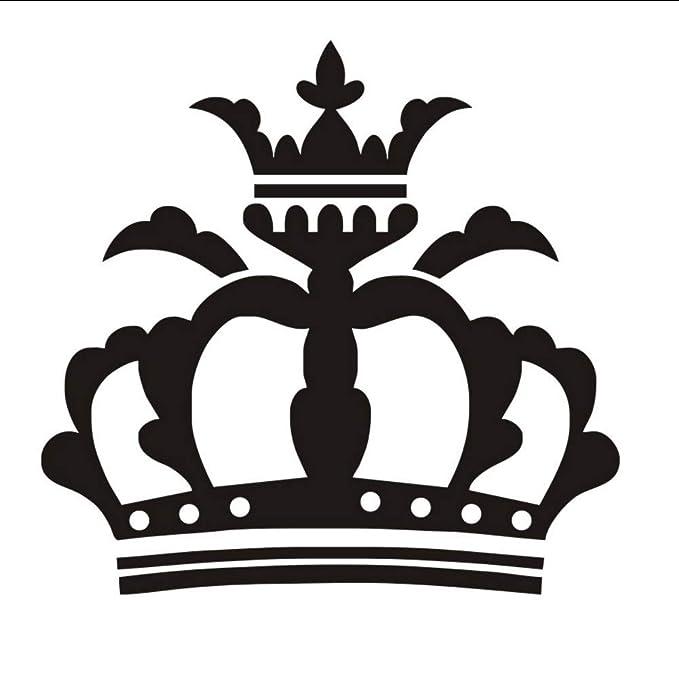 Lkfqjd Solemne Reina Corona Diy Tatuajes De Pared De Vinilo ...