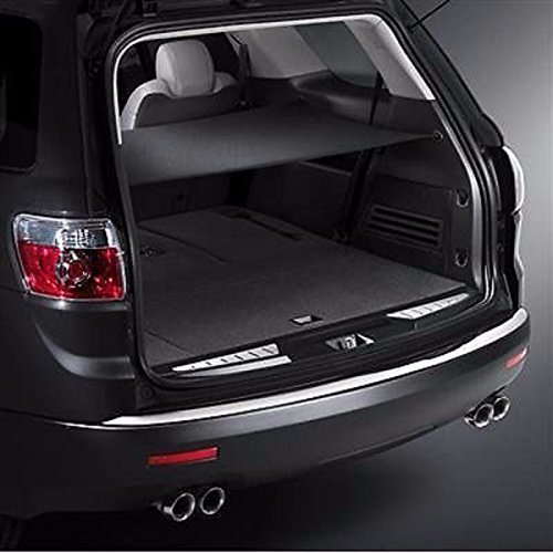 (Maxx Express Trunk Security Cargo Area Shade Cover Ebony for GMC Acadia Buick Enclave Chevy Traverse Saturn Outlook)