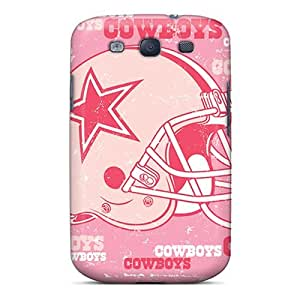 CaterolineWramight Cases Covers For Galaxy S3 - Retailer Packaging Dallas Cowboys Protective Cases wangjiang maoyi