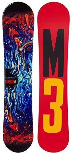 M3 Stagger Jr. Snowboard Kids Sz 110cm ()