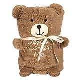 Brownlow Gifts Jesus Loves Me Blankie, Teddy Bear