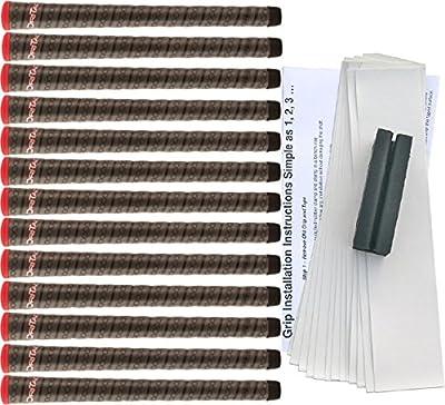 Winn Dri-Tac Wrap Standard Golf Grip Kit (13 Grips, Tape, Clamp)