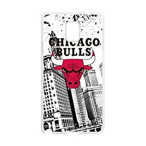 Chicago Bulls Brand New And Custom Hard Protector For Case Samsung Galaxy Note 2 N7100 Cover