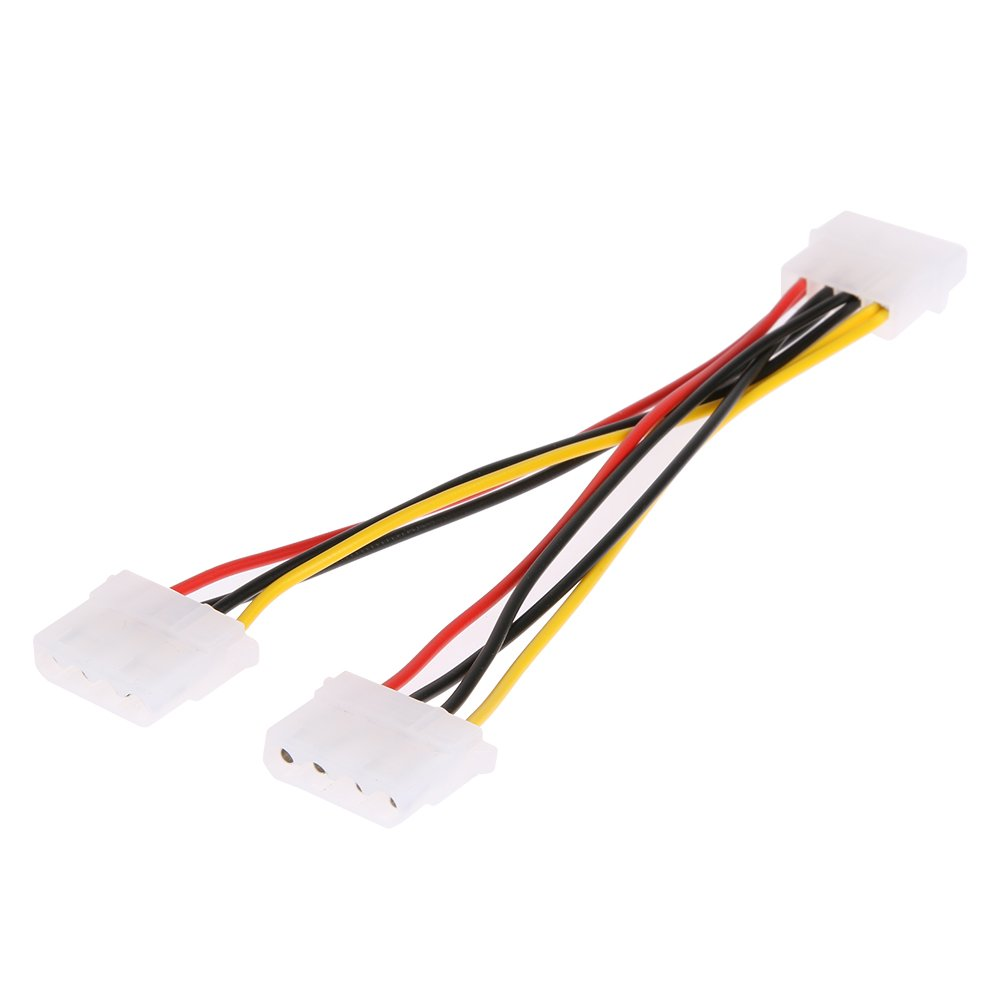 4Pin Power Converter Adapter Splitter Cable Extension Wire by ttnight 10pcs