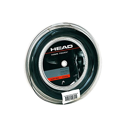 HEAD Hawk Touch Tennis String Set, 17g, Grey - 17g String Set
