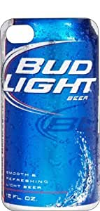 Bud Light Can iPhone 6 (4.7 inch) Black Plastic Case