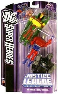 DC Super Heroes Action Figure Mattel Toys JLA Purple Card Justice League Unlimited Orion