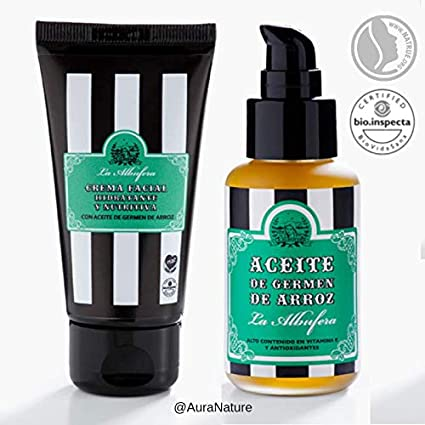 La Albufera Pack Exfol. Facial+Crema Facial Albufera 1 Unidad 500 g: Amazon.es: Belleza