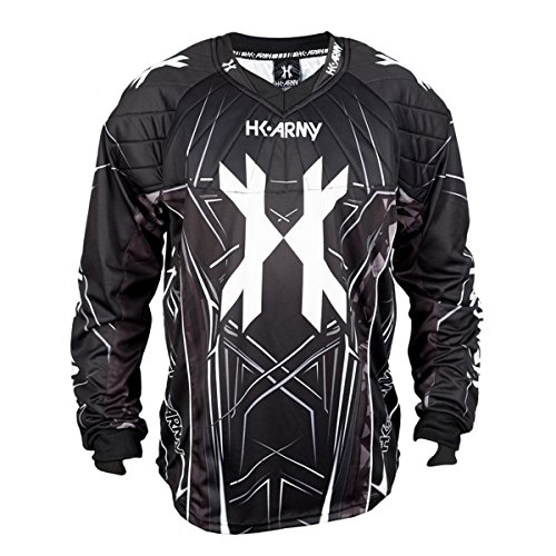 (HK Army HSTL Line Jersey (Black/Grey, Medium))