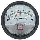 Dwyer® Magnehelic® Differential Pressure Gage, 2000-00AV, 0-0.25