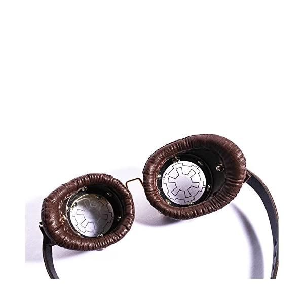 Kehuashina Cassic Men Goggles Steampunk Halloween Cosplay Sunglasses Super Retro Male Original Sun Glasses 5