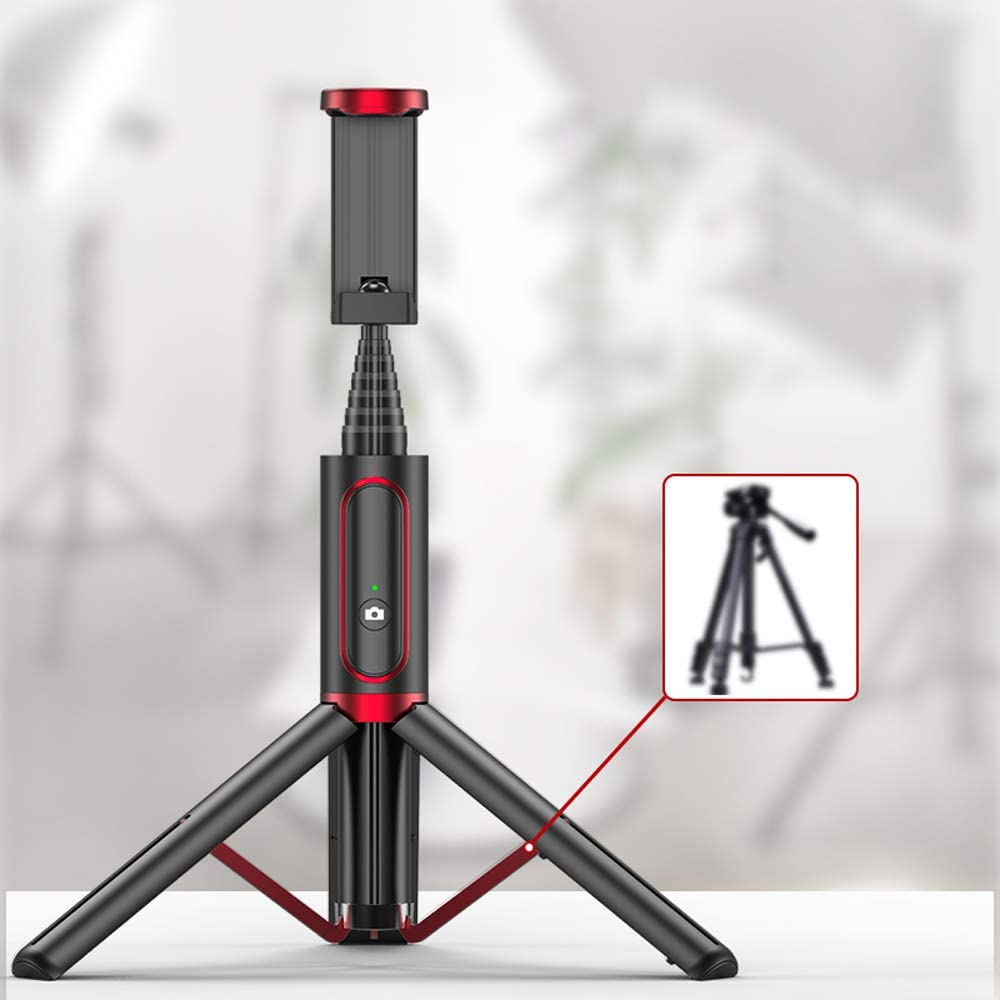 WANGXB Iphone Tripod,phone Tripod,One-piece Design,easy To Carry,Tripod,steady Shooting,Self-timer From Multiple Angles,Lighter Size Mobile Phone Holder,Available Indoors And Outdoors,multiple Colour