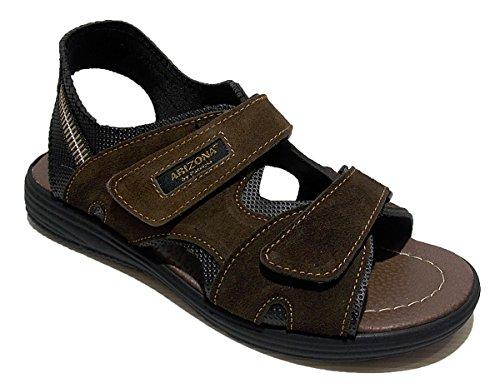 Patrizia Men's Shoes with Strap Brown ttmU52B