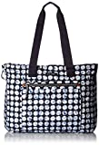 Vera Bradley Lighten Up Expandable Tote, Polyester, Splash Dot