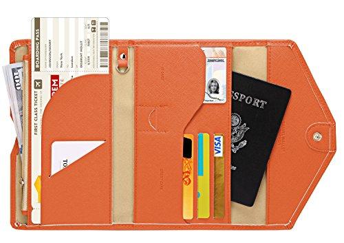 Zoppen Multi-purpose Rfid Blocking Travel Passport Wallet (Ver.4)