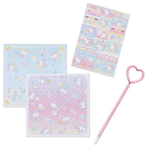 Sanrio Hello Kitty key with origami Cased Stationery Sets From Japan New by SANRIO (Image #1)