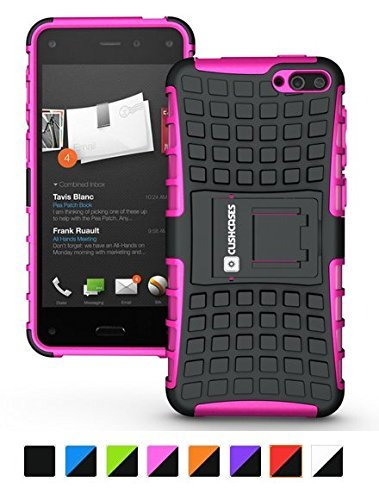 Cush Cases Extinguisher Series Heavy Duty Cover Case for Amazon Fire Smartphone (Pink)