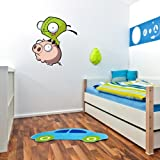 "Invader Zim flying Wall Graphic Decal Sticker 26"" x 24"""