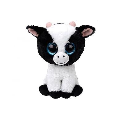 TY BEANIE BOOS 15cm BUTTER COW gift idea peluche toy puppet VX333