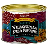 Wgmns Food You Feel Good About Peanuts, Virginia, Salted, 20 Oz