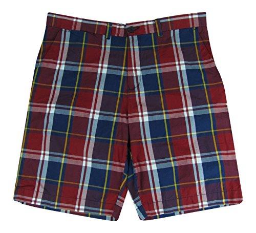 Tommy Hilfiger Men's Plaid Golf Shorts (36, Multi)