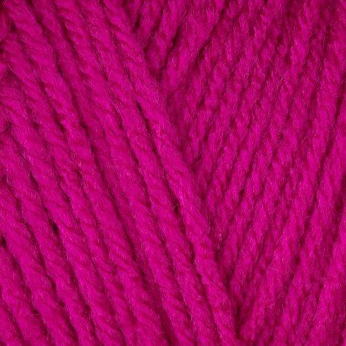 Fun Easter Basket Crochet Patterns - Free & Paid - RED HEART SUPER SAVER YARN 718 SHOCKING PINK