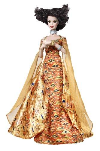 Austrian Costumes Dolls - Barbie Collector Museum Collection Klimt